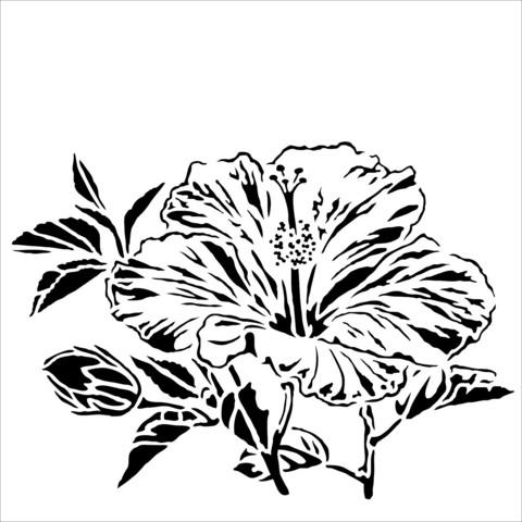 Sabluuna - Hibiscus - 15 x 15 cm