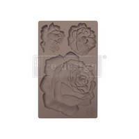 Silikonimuotti - 20 x 13 cm - Etruscan Rose - Prima Re-Design