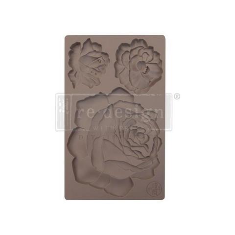 Silikonimuotti - 20 x 13 cm - Etruscan Rose - Prima Re-Design