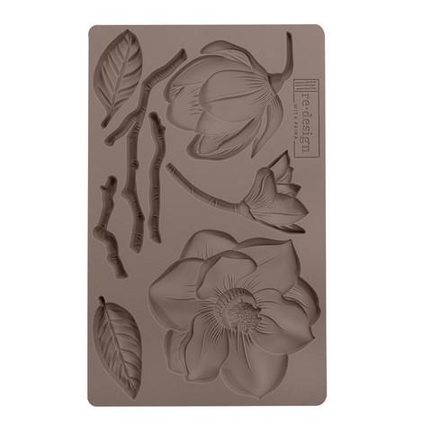 Silikonimuotti - 20 x 13 cm - Winter Blooms - Prima Re-Design