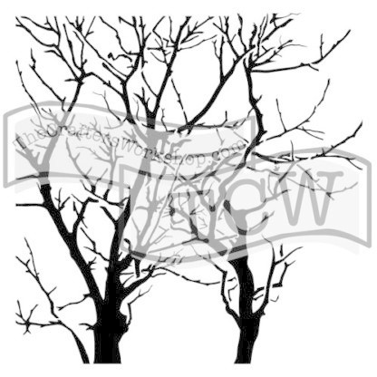 Sabluuna - Branches Reversed - 15 x 15 cm