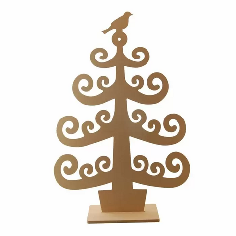 Puinen joulukuusi - 38x57 cm
