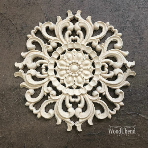 Puukoriste - 14,5 x 14,5 cm - WoodUBend  2082