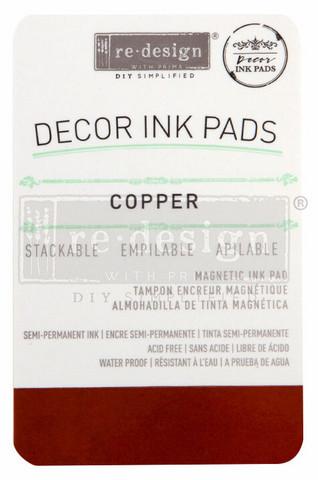 Leimasinmuste - Kupari - Redesign Decor Ink Pad