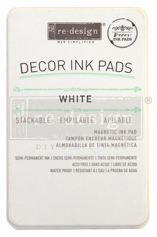 Leimasinmuste - Valkoinen - Redesign Decor Ink Pad