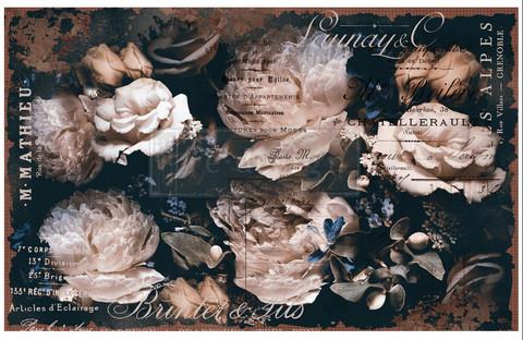 Decoupage-arkki - 48x76 cm - Uniqua - Prima Redesign Decor Decoupage Paper