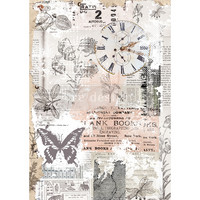 Decoupage-arkki - 29x41 cm - Herb's Memory - Redesign Decor Rice Paper