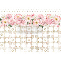 Decoupage-arkki - 29x41 cm - Tranquil Bloom - Redesign Decor Rice Paper