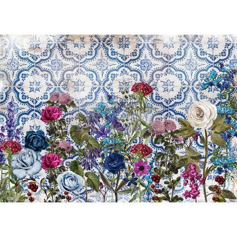 Decoupage-arkki - 29x41 cm - Moonlight Garden - Redesign Decor Rice Paper