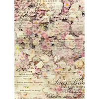Decoupage-arkki - 29x41 cm - Floral & Dream - Redesign Decor Rice Paper