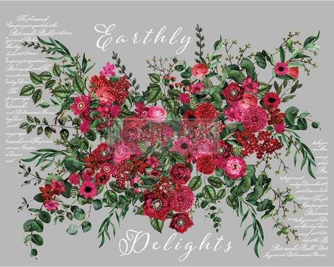 Siirtokuva - 88 x 121 cm - Earthly Delights - Prima Redesign Decor Transfer