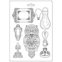 Muotti - A4 - Sir Vagabond Owl and Memories