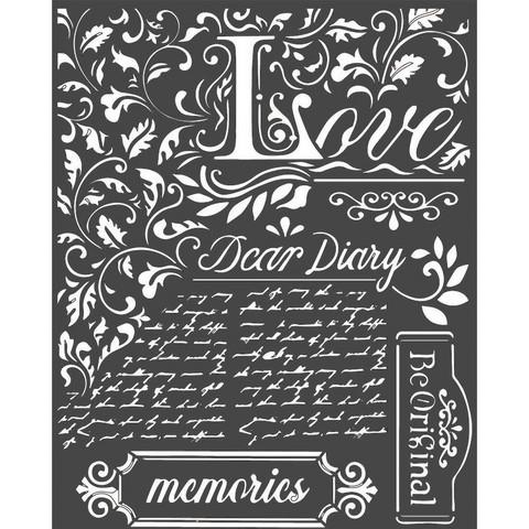 Sabluuna - 20 x 25 cm - Dear Diary