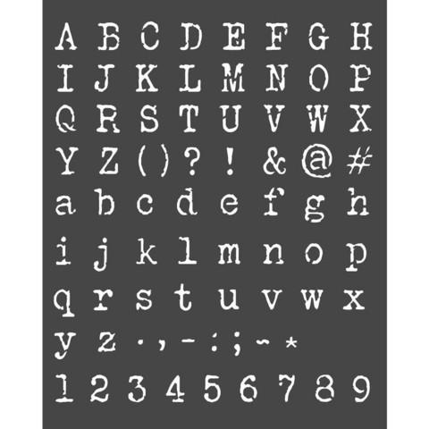Sabluuna - 20 x 25 cm - Alphabet and Numbers