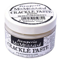 Krakelointitahna valkoinen - Stamperia Crackle Paste White - 150 ml