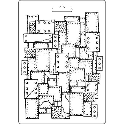 Tekstuurimuotti - 21 x 15 cm - Plaquette