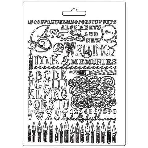 Tekstuurimuotti - 21 x 15 cm - Ink and Memories