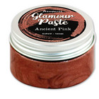 Kimalletahna tumma pinkki - Stamperia Ancient Pink Glamour Paste - 100 ml