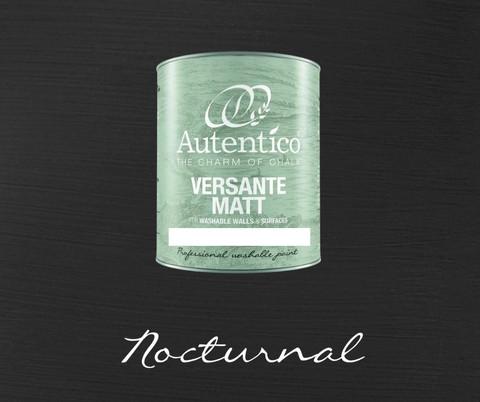 *Kalkkimaali - Musta - Nocturnal - Versante Matt - 500 ml