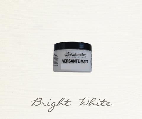 Kalkkimaali - Valkoinen - Bright White - Versante Matt - 125 ml