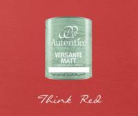 Kalkkimaali - Punainen - Think Red - Versante Matt - 500 ml