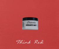 Kalkkimaali - Punainen - Think Red - Versante Matt - 125 ml