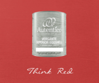 Kalkkimaali - Punainen - Think Red - Versante Eggshell - 500 ml