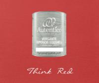 Kalkkimaali - Punainen - Think Red - Versante Eggshell - 500 ml