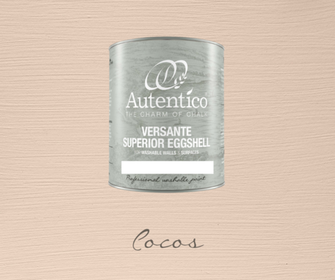Kalkkimaali - Pähkinänruskea - Cocos - Versante Eggshell - 500 ml