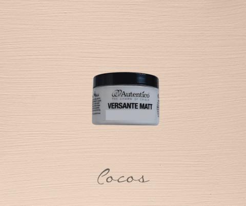 Kalkkimaali - Pähkinänruskea - Cocos - Versante Matt - 125 ml