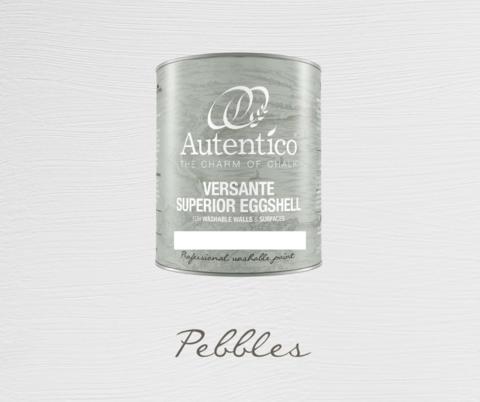 Kalkkimaali - Pikkukivenharmaa - Pebbles - Versante Eggshell - 500 ml