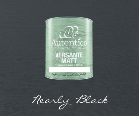 Kalkkimaali - Melkein musta - Nearly Black - Versante Matt - 500 ml