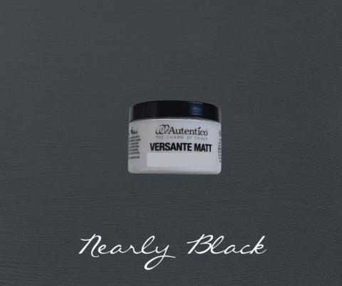Kalkkimaali - Melkein musta - Nearly Black - Versante Matt - 125 ml