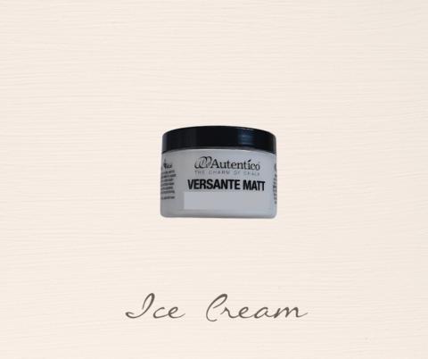 Kalkkimaali - Jäätelönvalkoinen - Ice Cream - Versante Matt - 125 ml