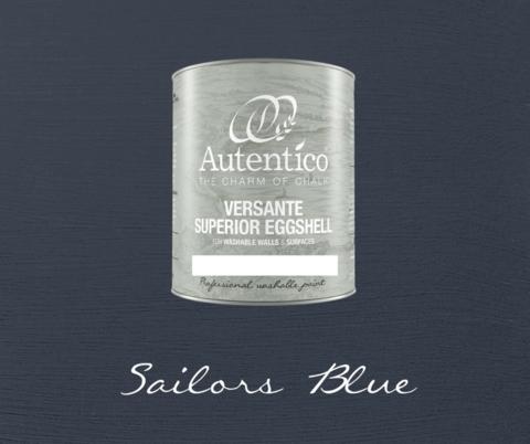 Kalkkimaali - Merimiehensininen - Sailors Blue - Versante Eggshell - 500 ml