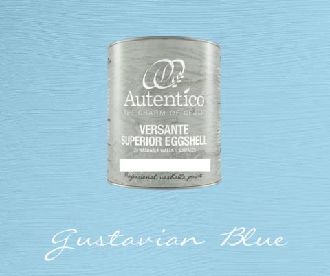 Kalkkimaali - Kustavinsininen - Gustavian Blue - Versante Eggshell - 500 ml