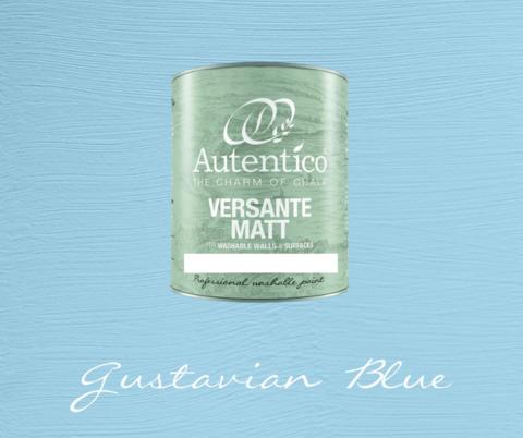 Kalkkimaali - Kustavinsininen - Gustavian Blue - Versante Matt - 500 ml