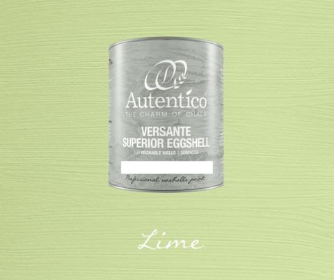 Kalkkimaali - Limenvihreä - Lime - Versante Eggshell - 500 ml