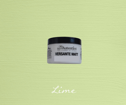 Kalkkimaali - Limenvihreä - Lime - Versante Matt - 125 ml