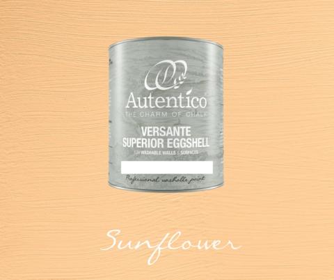 Kalkkimaali - Auringonkukankeltainen - Sunflower - Versante Eggshell - 500 ml