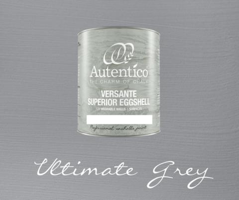 Kalkkimaali - Harmaa - Ultimate Grey - Versante Eggshell - 500 ml