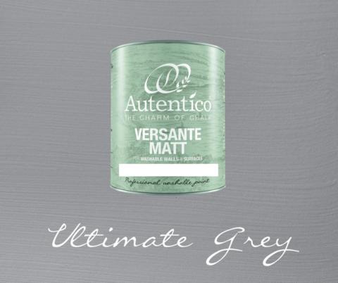 Kalkkimaali - Harmaa - Ultimate Grey - Versante Matt - 500 ml