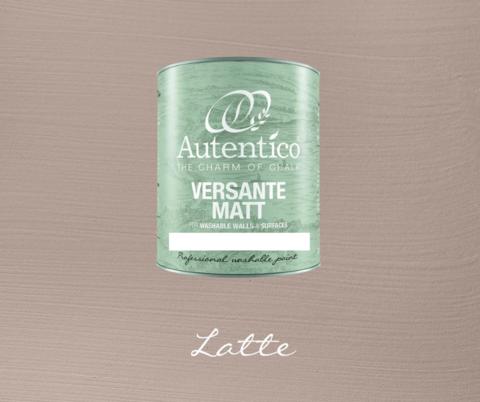 Kalkkimaali - Kahvinruskea - Latte - Versante Matt - 500 ml