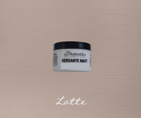 Kalkkimaali - Kahvinruskea - Latte - Versante Matt - 125 ml