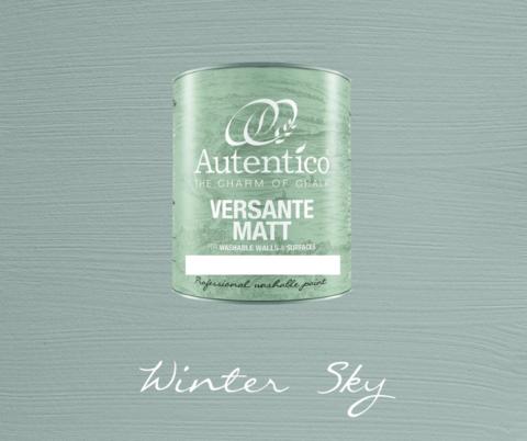 Kalkkimaali - Talvisentaivaansininen - Winter Sky - Versante Matt - 500 ml