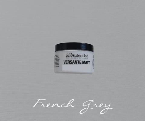 Kalkkimaali - Ranskanharmaa - Frenc Grey - Versante Matt - 125 ml