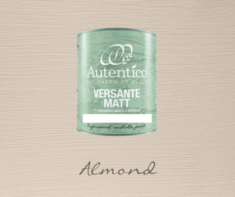 Kalkkimaali - Mantelinruskea - Almond - Versante Matt - 500 ml