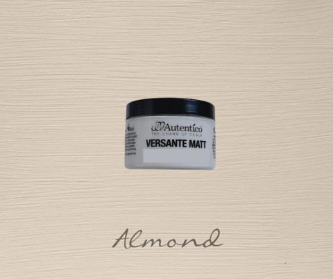 Kalkkimaali - Mantelinruskea - Almond - Versante Matt - 125 ml