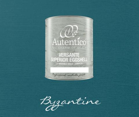 Kalkkimaali - Roomanturkoosi - Byzantine - Versante Eggshell - 500 ml