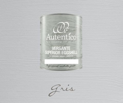 Kalkkimaali - Harmaa - Gris - Versante Eggshell - 500 ml